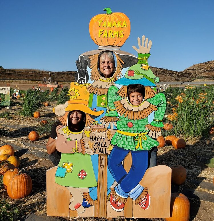 The Tanaka Farm Pumpkin Patch Perfectly Fills Things To Do In Orange County That Embraces the October Halloween Spirit